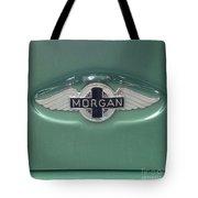 Morgan Car Emblem Tote Bag