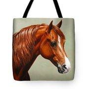 Morgan Horse - Flame Tote Bag