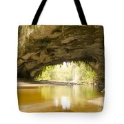 Moria Gate Arch In Opara Basin On South Island In Nz Tote Bag