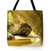 Moria Gate Arch In Opara Basin On South Island Of Nz Tote Bag