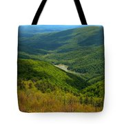 Moormans River Overlook In Spring Tote Bag
