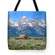Mormon Row Tote Bag
