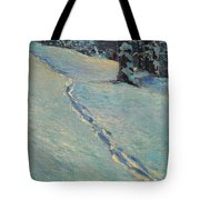 Morning After Snow Tote Bag