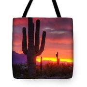 Morning Arizona Style  Tote Bag