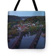 Morning At Harpers Ferry Tote Bag