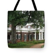 Morning At Monticello Tote Bag