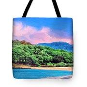 Morning At Papohaku Beach  Tote Bag