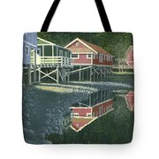 Morning At Telegraph Cove Tote Bag