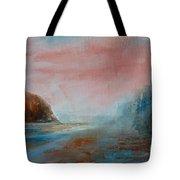 Morning At The  Beach Tote Bag