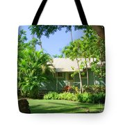 Morning At The Cabin Tote Bag