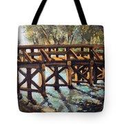 Morning At The Old North Bridge Tote Bag