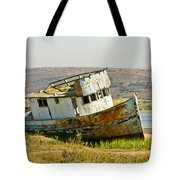 Morning At The Pt Reyes Tote Bag by Bill Gallagher