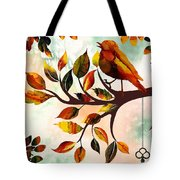 Morning Bird Tote Bag