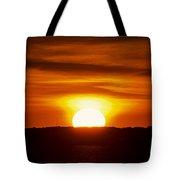 Morning Blaze Tote Bag