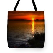 Morning By The Shore Tote Bag