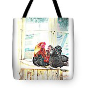 Like Morning Coffee With My Darling  Tote Bag by Hilde Widerberg