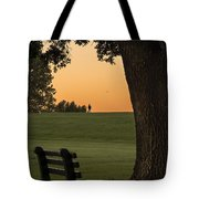 Morning Contemplation Tote Bag