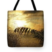 Morning Dew Screen Tote Bag