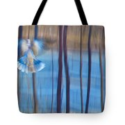 Morning Dove Tote Bag by Theresa Tahara