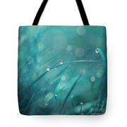 Morning Droplets Tote Bag by Priska Wettstein