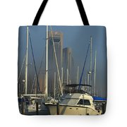 Morning Fog Ll Tote Bag
