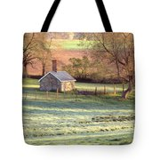 Morning Frost Tote Bag