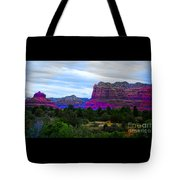 Glorious Morning In Sedona Tote Bag