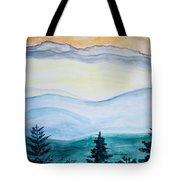 Morning Hills Tote Bag