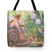 Morning Hues Tote Bag by Sara Burrier