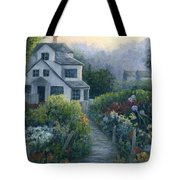 Morning In A Maine Garden Tote Bag