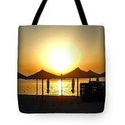 Morning In Greece Tote Bag