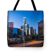 Morning In Los Angeles Tote Bag by Inge Johnsson