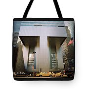 A Beautiful New York Morning Tote Bag