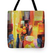 Morning In Paris Tote Bag by Martin Decent