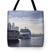 Morning In Seattle Tote Bag