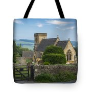 Morning In Snowshill Tote Bag