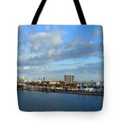 Morning In The City Tote Bag
