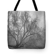 Morning In The Fog. M Tote Bag