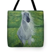 Morning In The Pasture Tote Bag