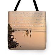 Morning Inspiration Tote Bag