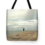 Morning Jog Tote Bag