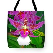 Morning Joy Orchid Tote Bag