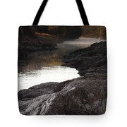 Morning Light And Fog Tote Bag