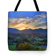 Morning Light Over Leicester Tote Bag