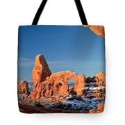 Morning Looking Out The Window Tote Bag