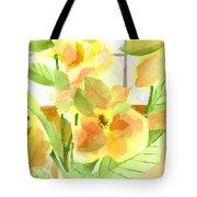 Morning Magnolias Tote Bag