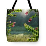 Morning Marsh Tote Bag