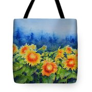Morning Mist 2 Tote Bag