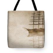 Morning Mist In Sepia Tote Bag