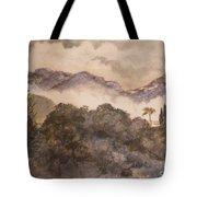 Morning Mist Pasadena Tote Bag